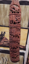 Wall art hand carved from Teak wood