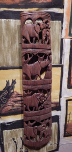 Wall art handcrafted from Teak wood