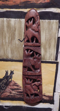 Wall decoration from Teak wood