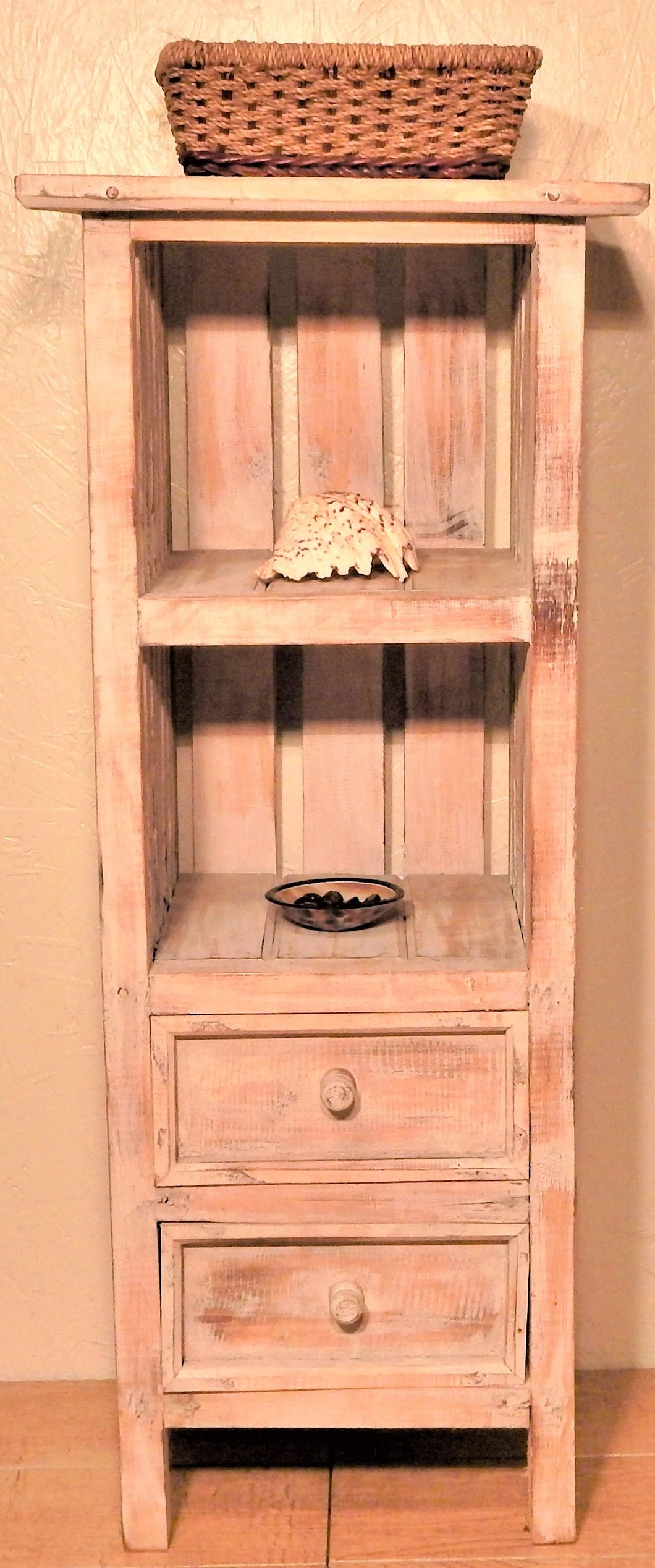 Salvaged Wood Furniture |  Bookcase handcrafted from reclaimed wood