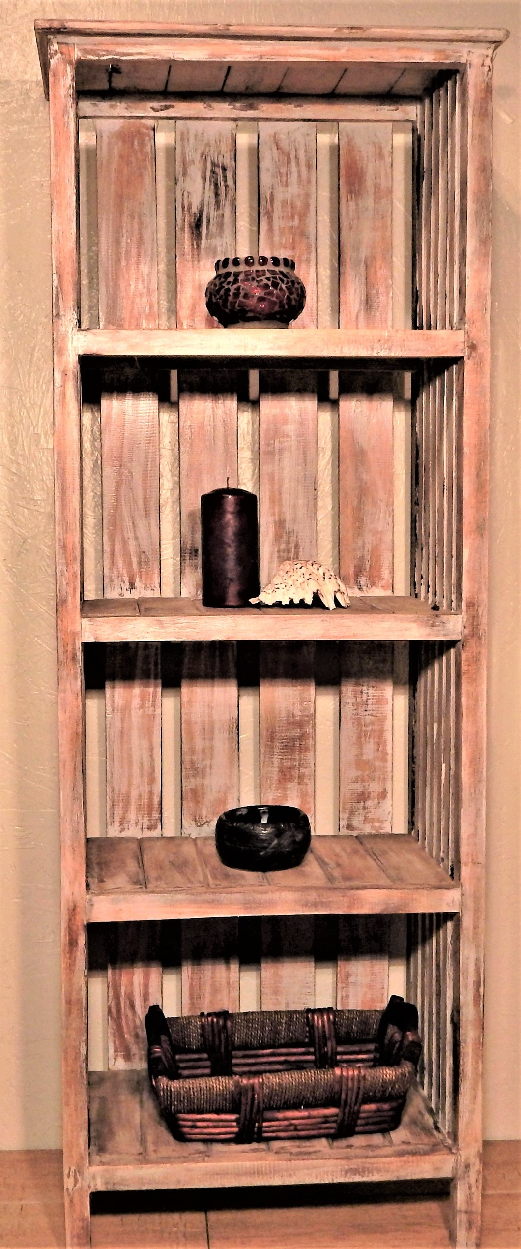 Salvaged wood bookcase | Roots Hardwood Furniture & Tiles