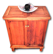 Teak wood wine bar storage cabinets | Roots Hardwood Furniture & Tiles