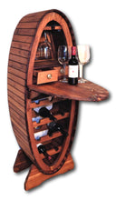 Wine bar cabinet handcrafted from Teak wood