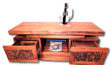 Television media cabinet from Teak wood