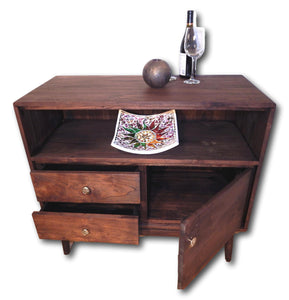 Solid teak wood dining room sideboard 1 | Roots Hardwood Furniture