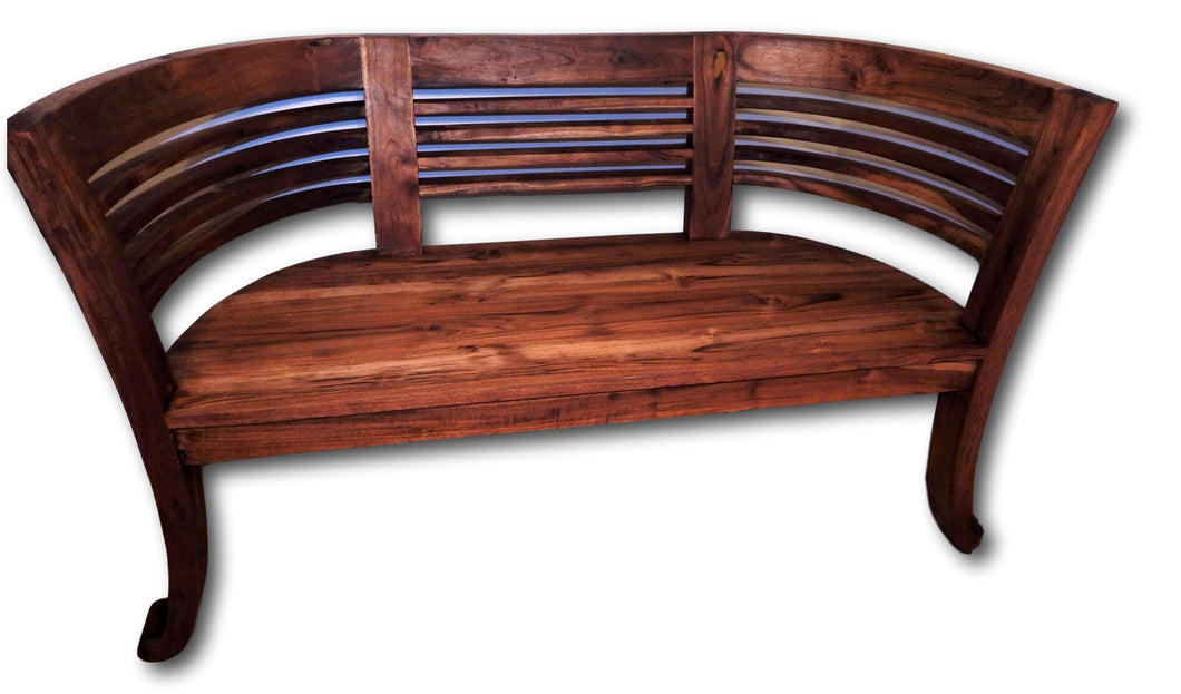 Solid teak bench in Seattle | Roots Hardwood Furniture & Tiles