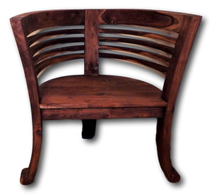 Teak Bench & Chairs teak | Roots Cabinets & Tiles |You'll love the teak chair collection made from a variety of hardwoods, teak chairs, salvaged wood chairs, tree slab chairs, teak patio chairs, rustic tree root chairs and ...