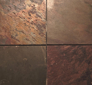 "Slate 12"" x 12"" tile from Natural stone"
