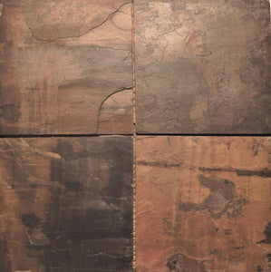 "Slate tile 12"" x 12"" from Natural stone"