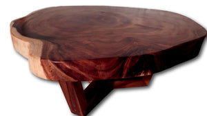 Round: Coffee Tables: Slab Tables, Updated 2020: Roots Furniture & Tile