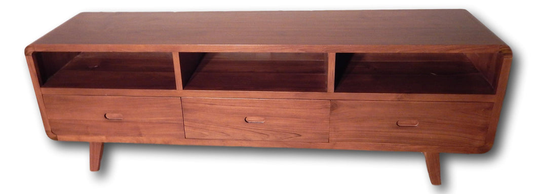 Television solid wood cabinet from Teak wood