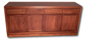 Seattle Hardwood Furniture | Roots Hardwood Furniture and Tiles | Credenza from Teak wood