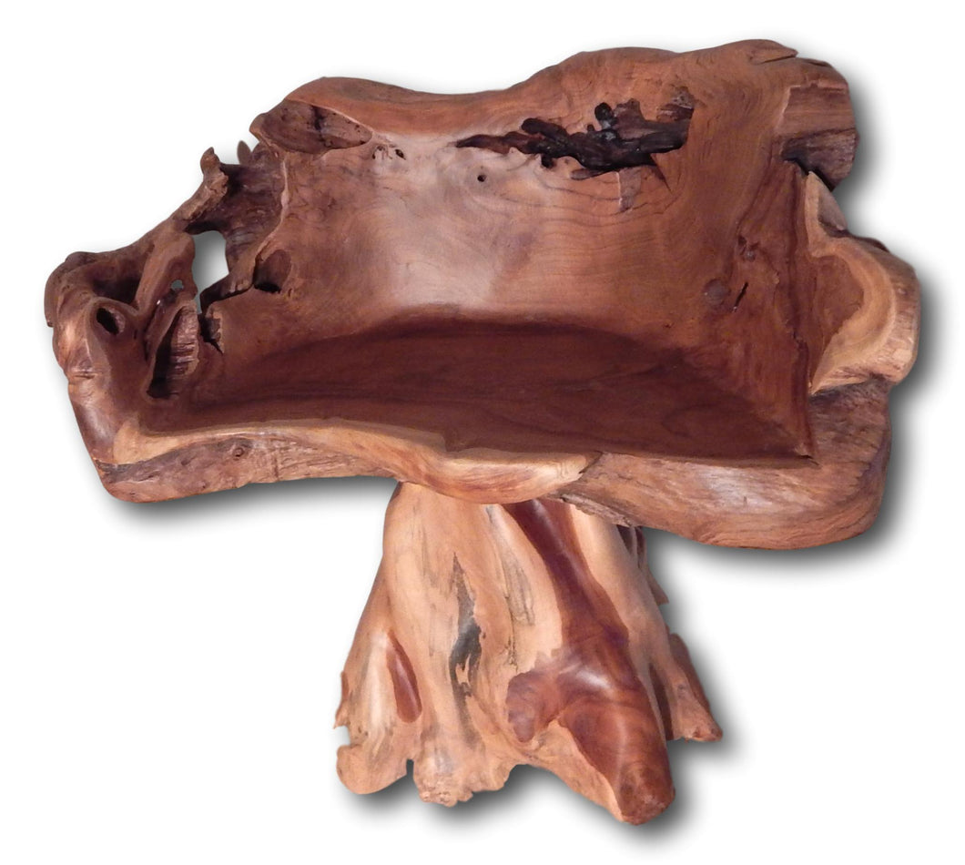 Natural teak root bench in Hollywood | Roots Hardwood Furniture & Tiles