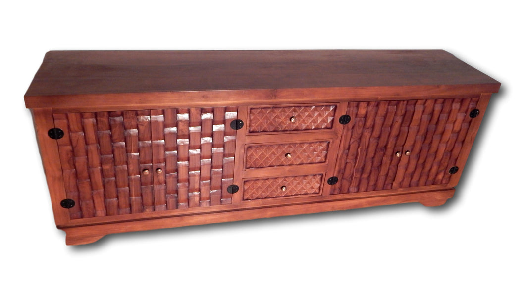 Seattle Hardwood Furniture | Roots Hardwood Furniture Seattle | Credenza handcrafted from Teak wood