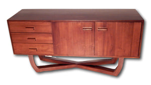 ~ 69 ~ Hard Wood Furniture Seattle, Custom Made Credenza ~ from Teak wood | Roots Cabinets and Tiles