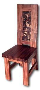 Teak Wood Dining Chairs: Seattle Chair 1 | Roots Teak Cabinets & Tile