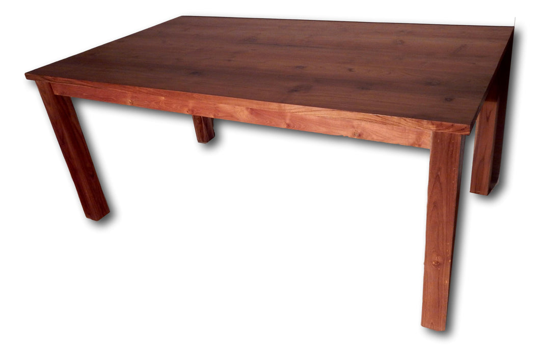 Teak kitchen dining table in Seattle: Roots Hardwood Furniture & Tiles
