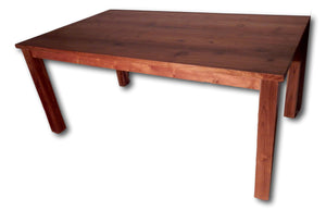 Solid teak and slab table in Hollywood | Roots Hardwood Furniture & Tiles