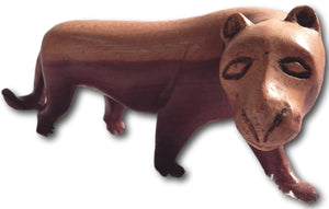 Lioness Nala handcrafted from Teak wood