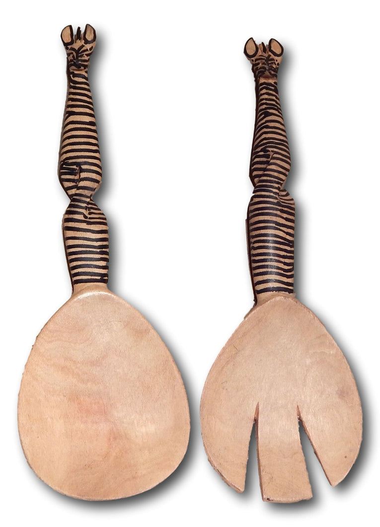 Wood spoon set from Seringa wood