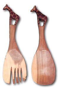 Wood spoon set Roots Hardwood Furniture & Tile