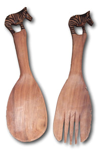Wood spoon set Roots Cabinets & Tiles