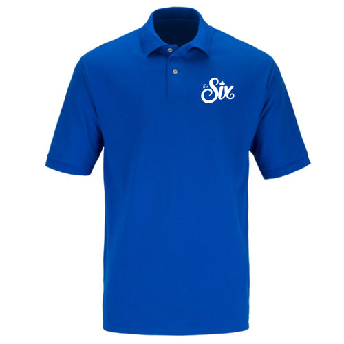 THE STREETZ VOL 1 Cotton Men's Polo - Blue - Red