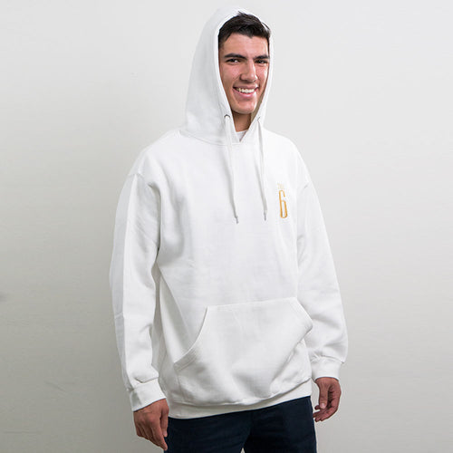 THE 6 CLASSIC I Cotton Men's Hoodie - Pocket Logo
