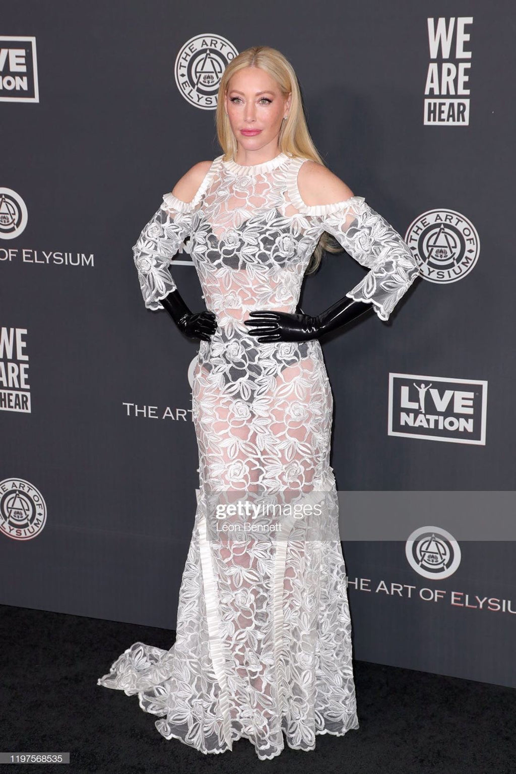 Julie Mintz Serving Celestino Looks on the Red Carpet!