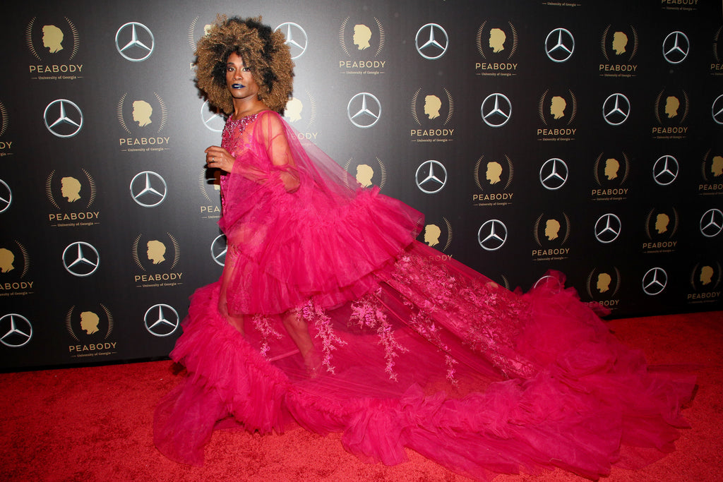 POSE Star Billy Porter in Celestino for the Peabody Awards!