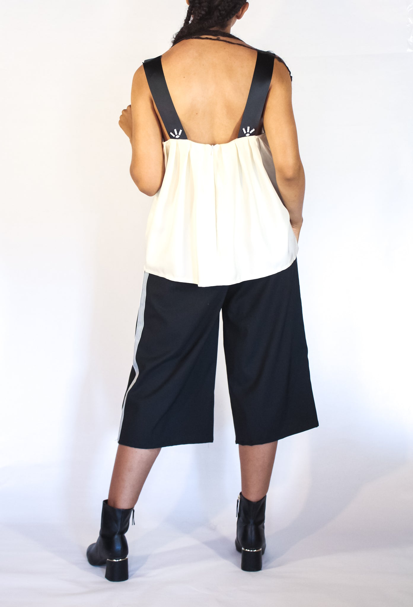 Tank Top with Back Tucks