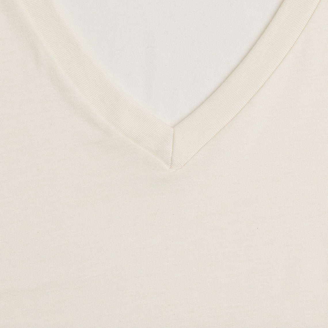 Short Sleeve Organic Cotton V-Neck T-Shirt