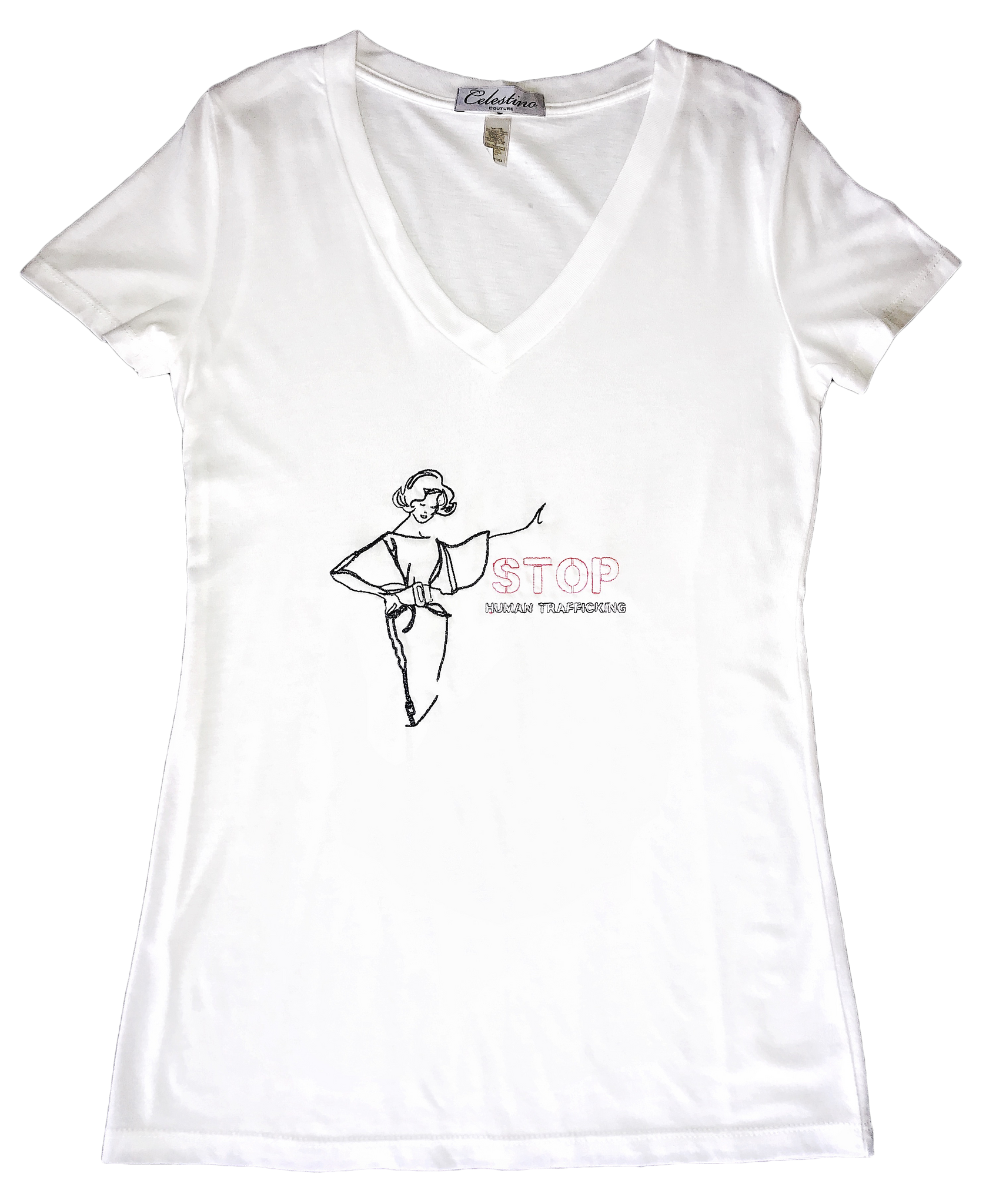 Stop Human Trafficking Tee (Women's)