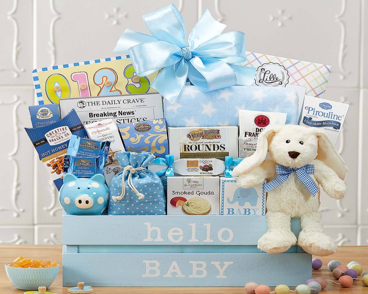 Gifts for new baby and their family.