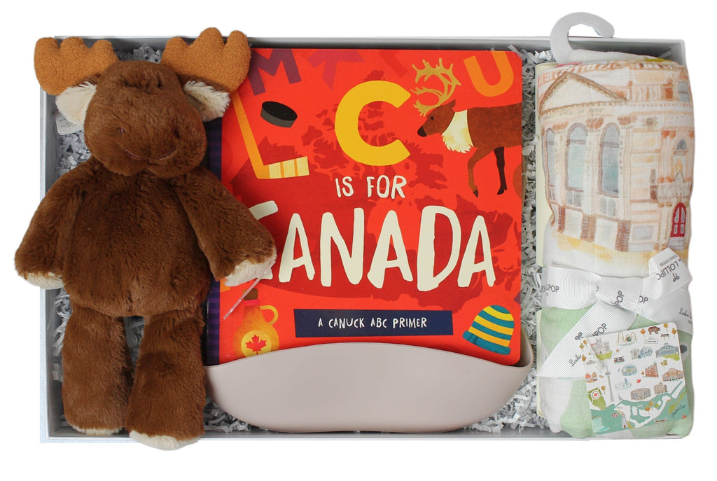Canada Themed Baby Gift Box-The Baby Gift People