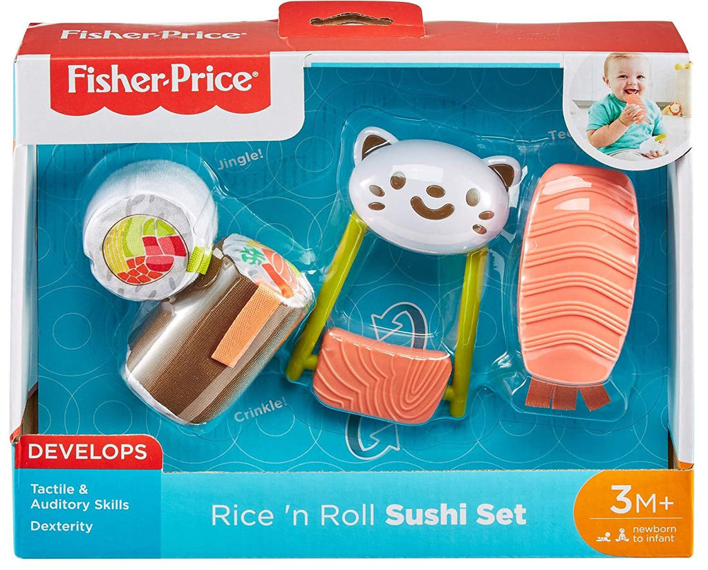 Fisher-Price Rice 'n Roll Sushi Set-The Baby Gift People
