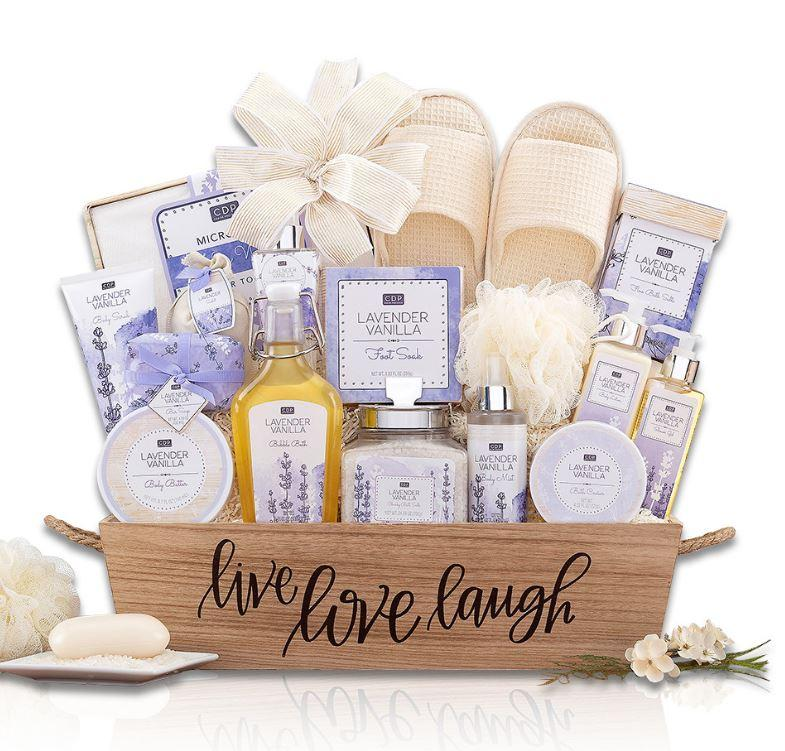 Lavender Vanilla Spa Gift For New Mom-The Baby Gift People