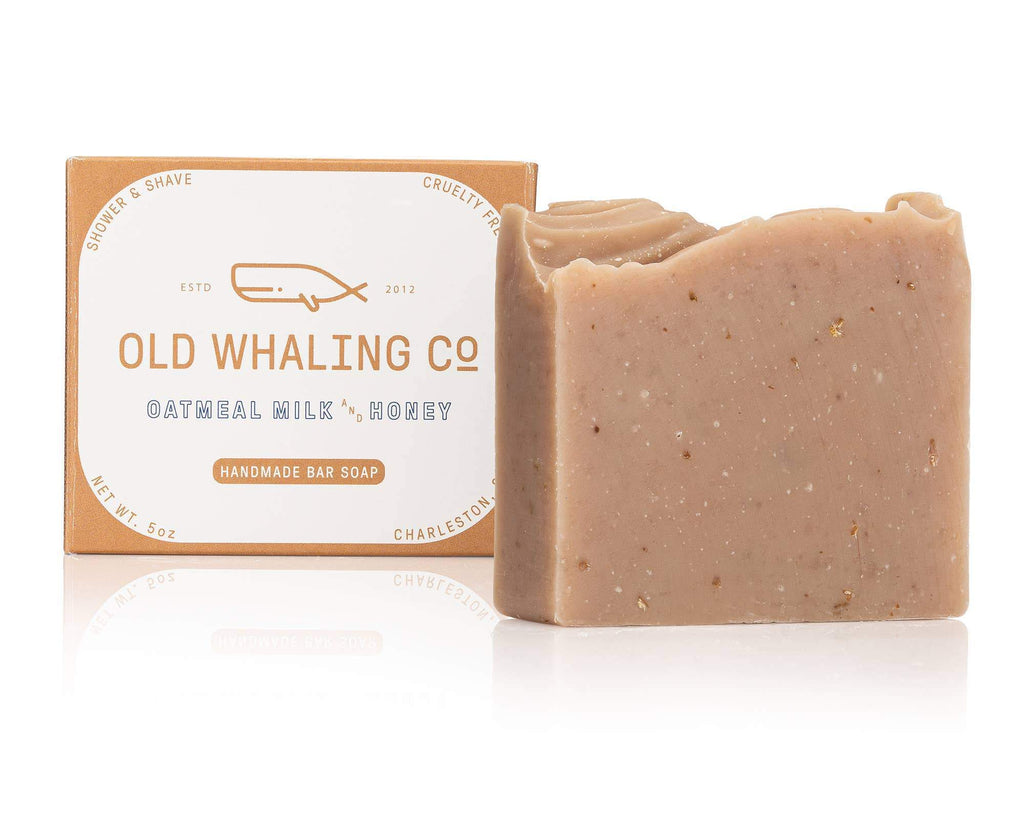 Oatmeal Milk + Honey Bar Soap-Soap-The Baby Gift People