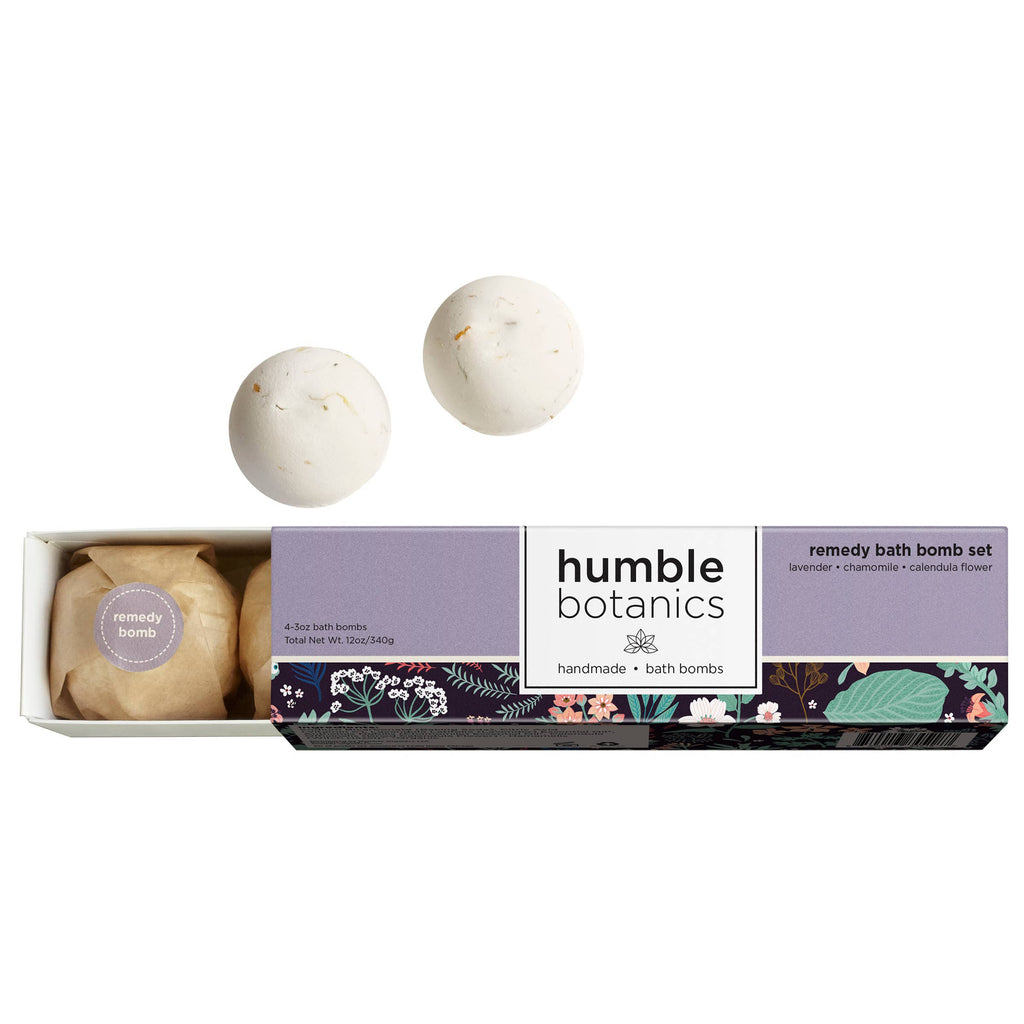 Remedy Bath Bomb Set-The Baby Gift People