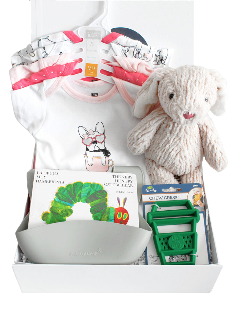 The Must Have Baby Girl Gift Box-The Baby Gift People