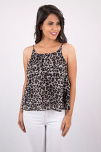 Animal Printed Spaghetti Top