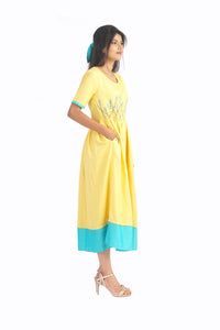 Mellow Yellow Maxi Dress
