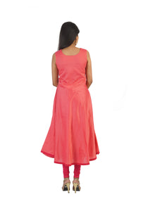 Celestial Pink Two Piece Kurta Dress