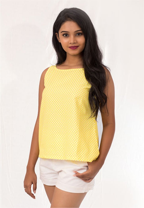 Yellow Daisy Tank Top