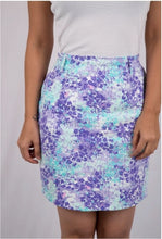 Purple Confetti Pencil Skirt