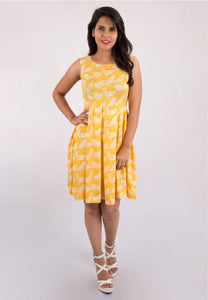 Yellow Sparrow Dress
