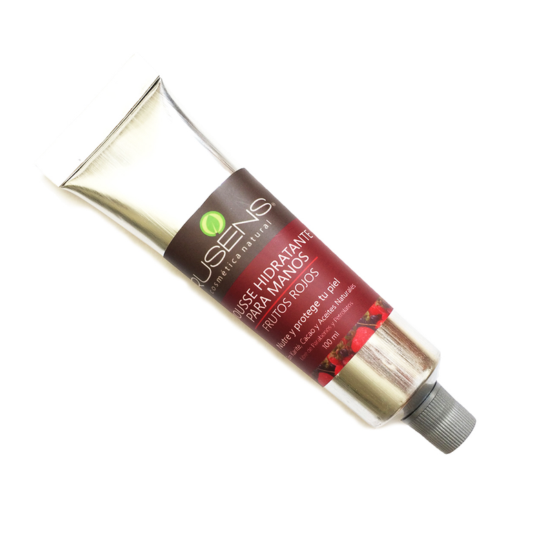 Mousse Hidratante para Manos Frutos Rojos - 90ml