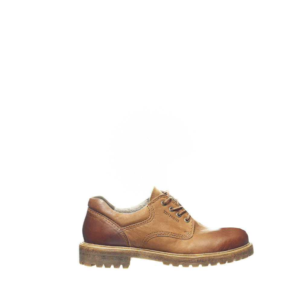 BERTIL Laced shoes — Camel