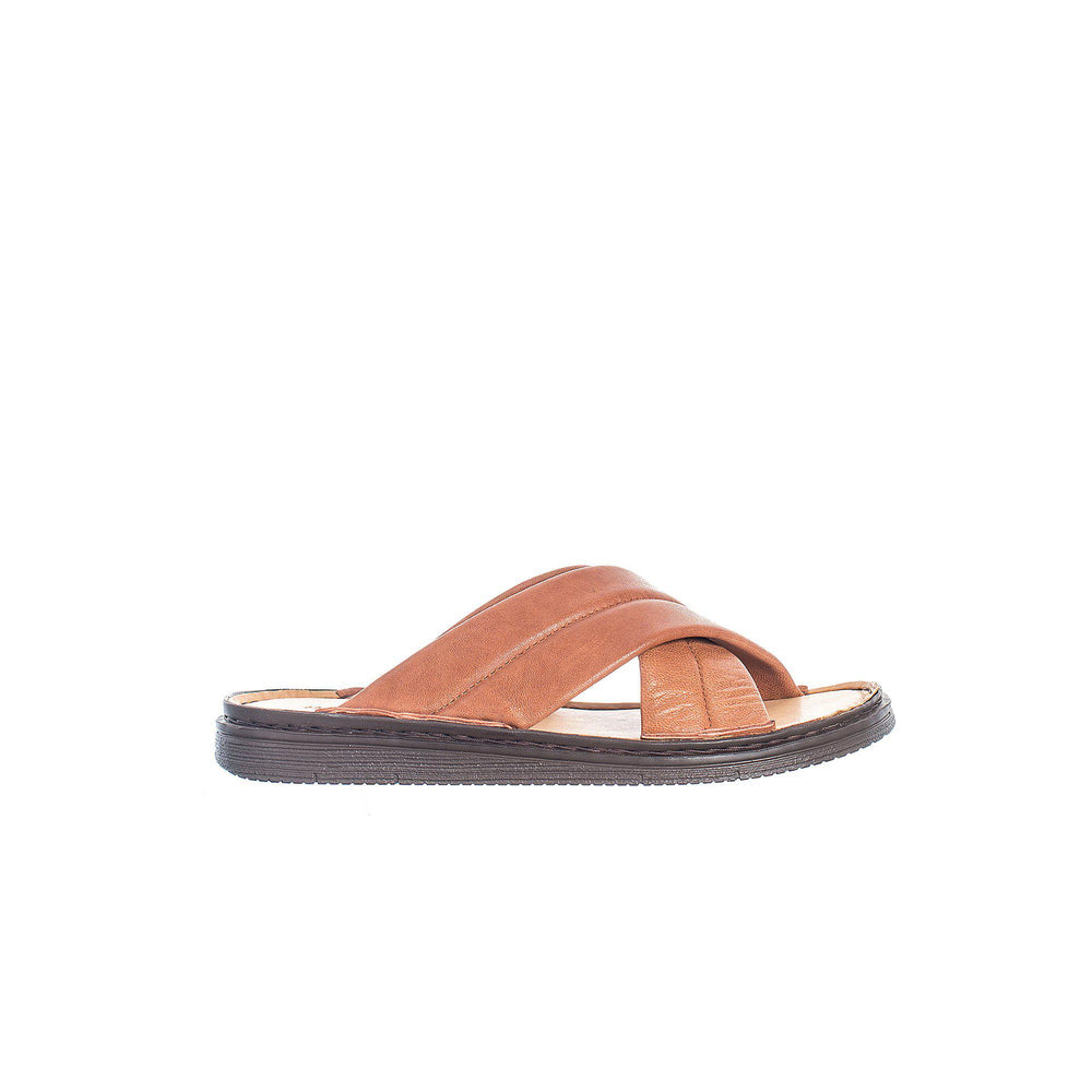 Kent Sandals — Cognac