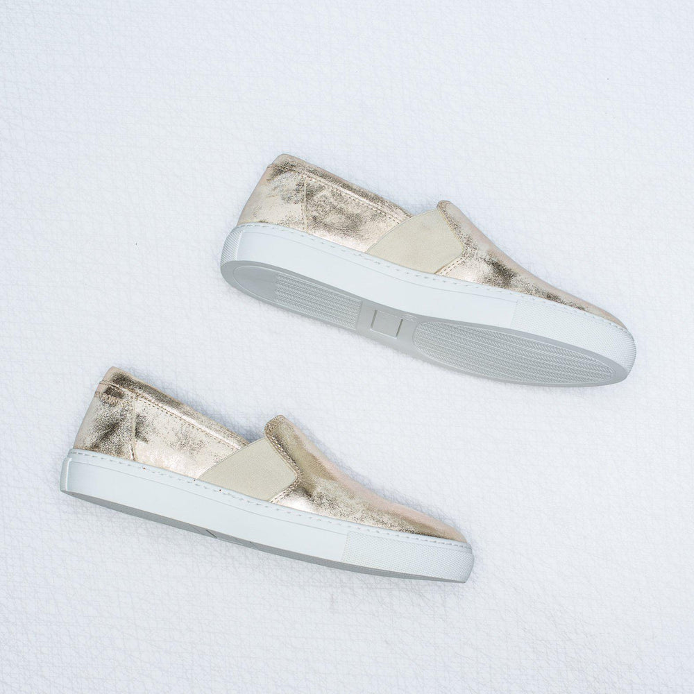 Victoria | metallic leather